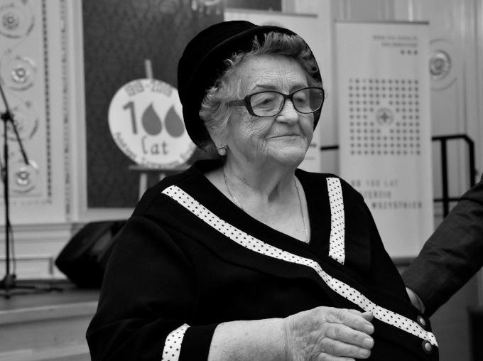 Ilustracja do informacji: Odeszła Irena Kuć, zasłużona dla naszego regionu działaczka PCK